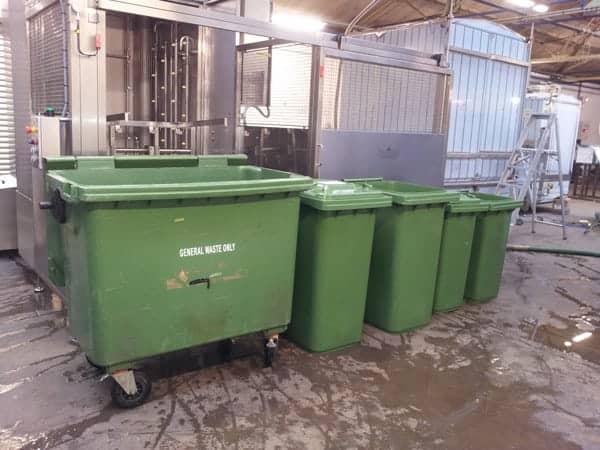 IWM'S Waste Bin Washer Handles Three Sizes