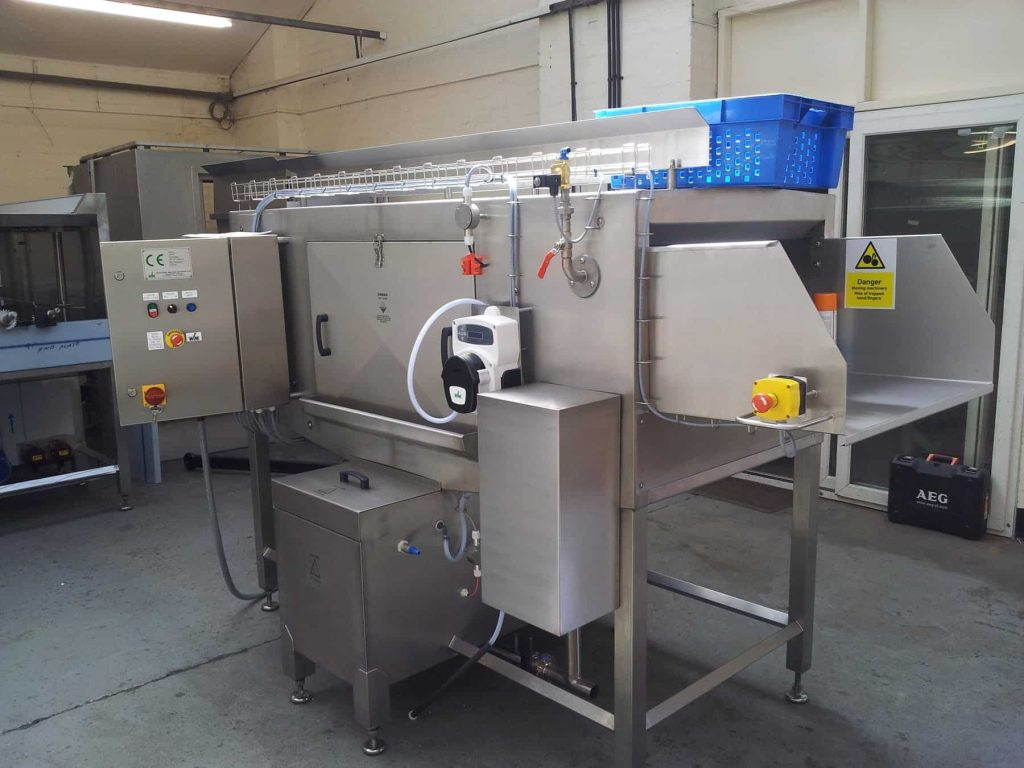 T200 One-Man Oerated Traywasher