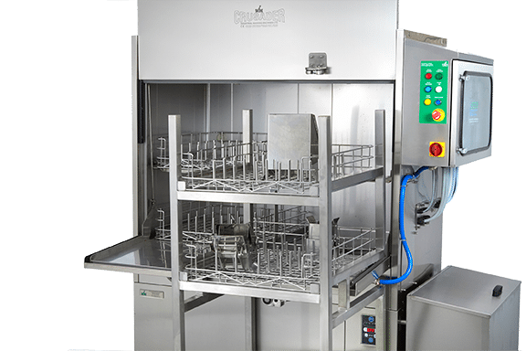 IWM launches new range of weigh and scale pan washers