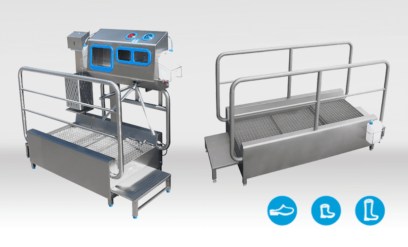 Shoe Disinfection Stand
