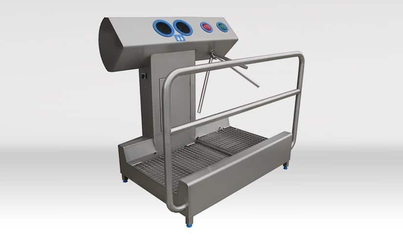 Shoe & Hand Disinfection Stand